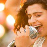 Elige un micrófono de karaoke